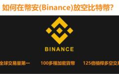 虛擬貨幣交易所幣安(Binance)介紹&在幣安放空比特幣教程