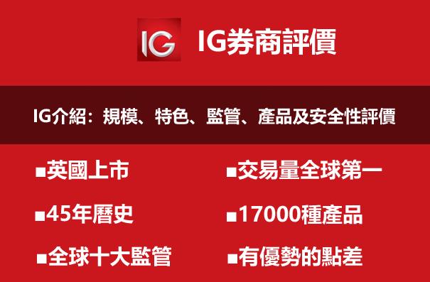 IG外匯平台特色