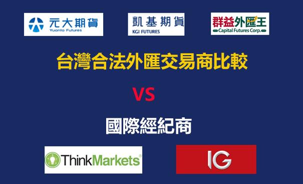 台灣合法外匯平台比較-元大,群益 ,凱基,遠東商銀優缺點分析/評價